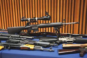 Man with huge gun cache sentenced 1