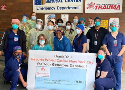 Resorts World donates to Jamaica Hospital 1