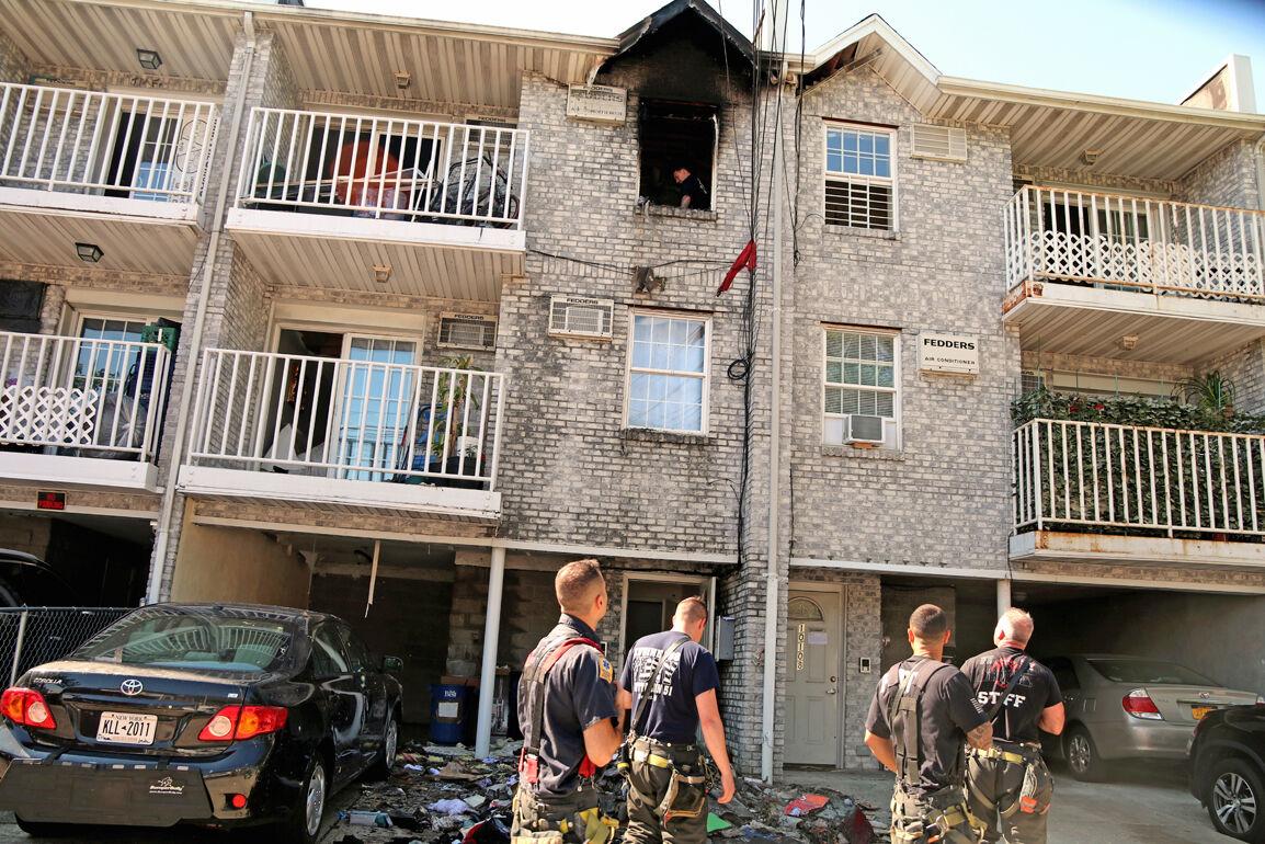 Ozone Park fire hospitalizes family 1