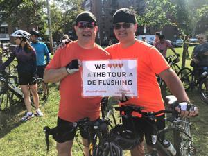 Cyclists have some Tour de Flushing fun 2