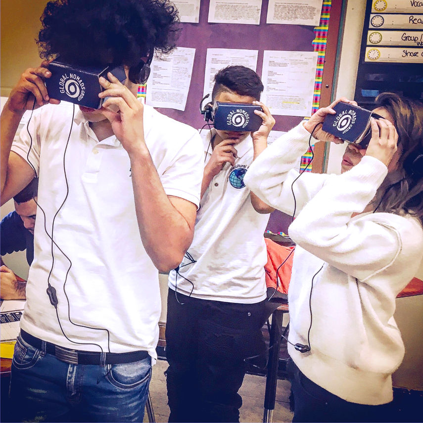 Multicultural High School students celebrate 'virtual' cultures abroad 2