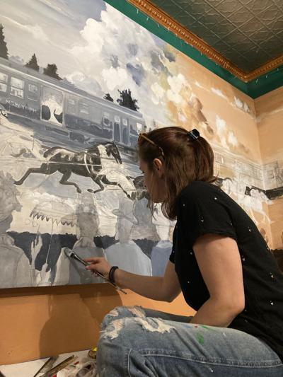 One mural, two centuries