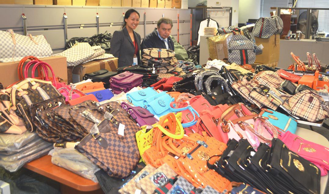 ... From Flushing Have Been Charged With Trademark Counterfeiting After  More Than $250,000 In Fake Designer Goods Were Found At Ridgewood Storage  Units, ...