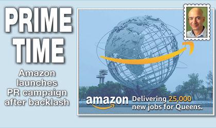 Amazon sends fliers touting company 1