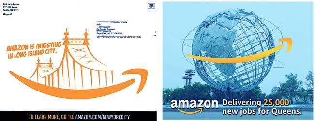Amazon sends fliers touting company 2