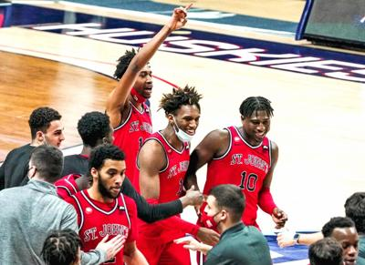 St. John's edges out an old rival for the win 1