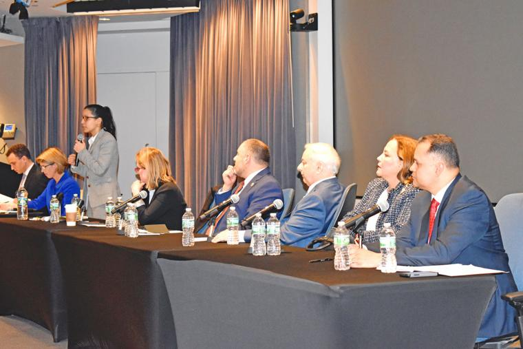 DA candidates spar at CUNY Law forum 2 - Queens Chronicle