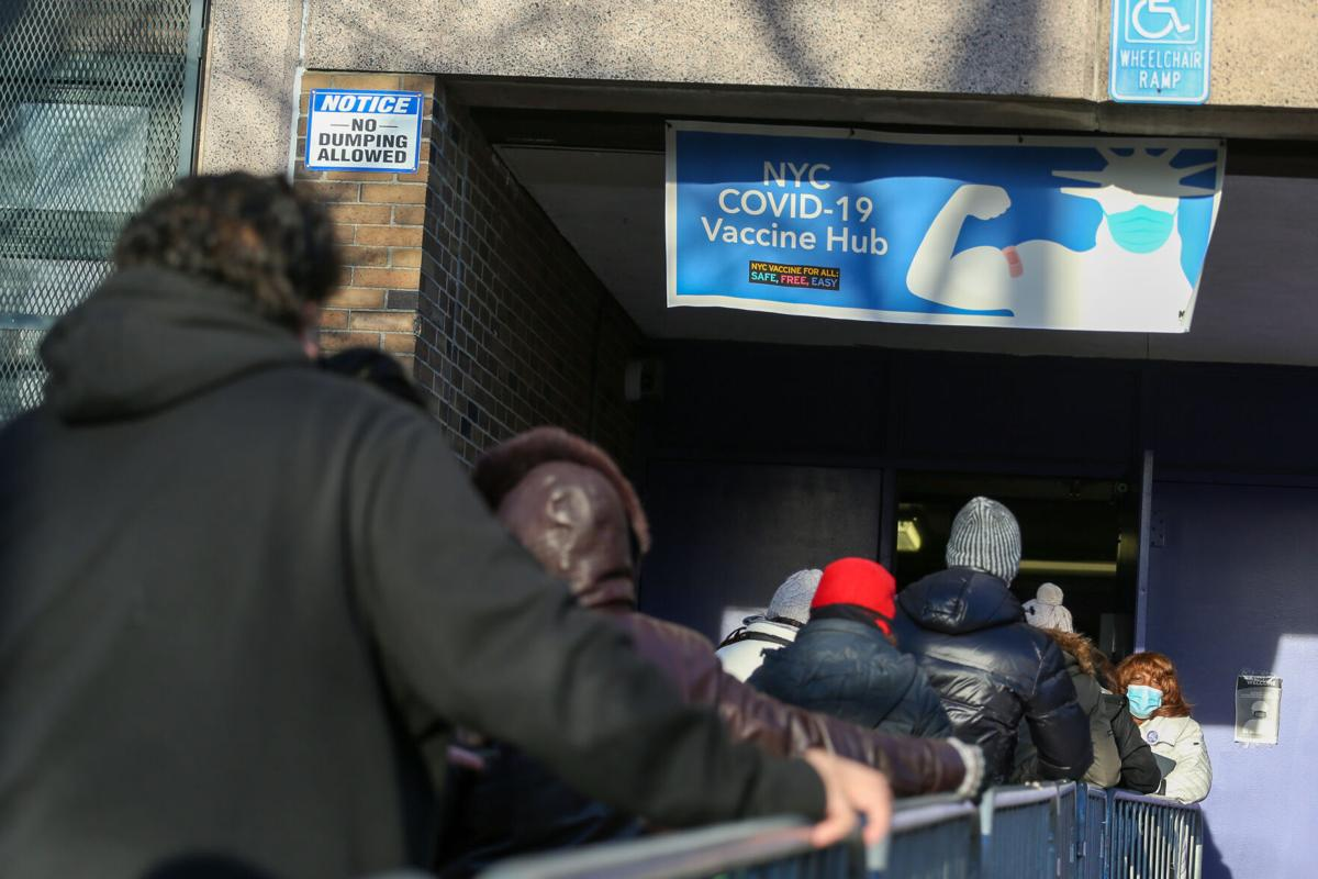 Queens opens its first vaccine hub