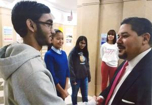 Richmond Hill High School gets a visit from the new School Chancellor 1