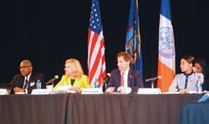 House Census panel visits LaGuardia CC 1