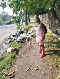Trash heaps grow in South Ozone Park