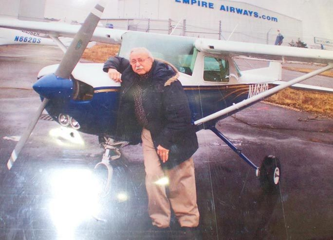 Standing his ground on parking his plane 2