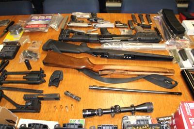 Illegal gun arsenal found in Richmond Hill 1