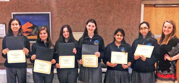 The Mary Louis Academy Students Win Honors 1
