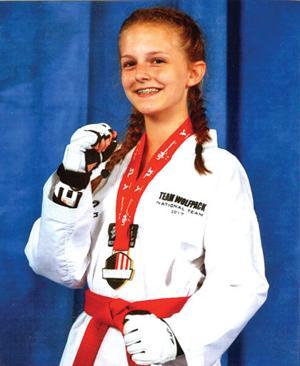 Queens' taekwondo champs 2
