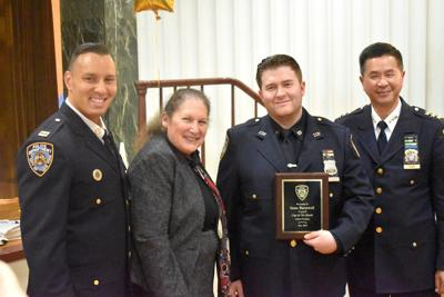 Cop of the month honored 1