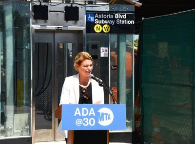 MTA adds elevators at Astoria Boulevard 1
