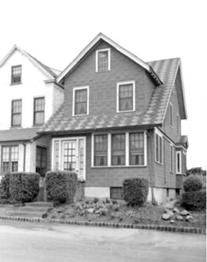 <p>This is the childhood home, circa 1940s, of Basketball Hall of Famer Bob Cousy, 189-25 116 Road, St. Albans.</p>