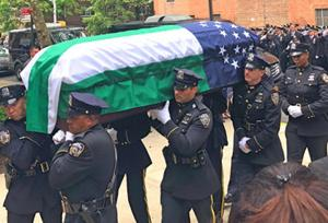 Friends, colleagues mourn NYPD vet 1