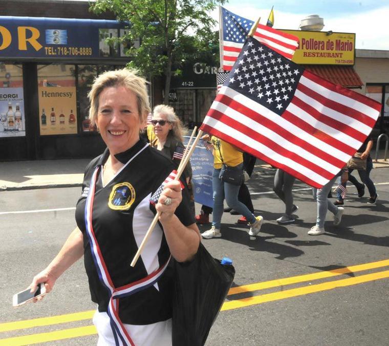 Sunnyside flag parade 7