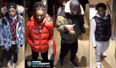 NYPD: Four wanted for hotel shooting