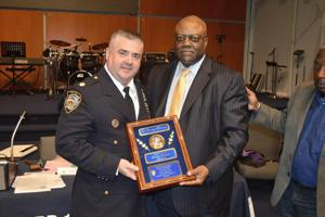 Brian Moore honored with CB 13 memorial 1