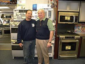 Great service at Bob Coccia's Center for Appliances in Bayside 1