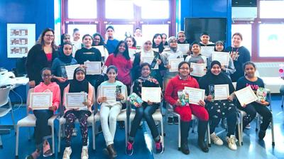 Readers Celebrated At MS 202 1