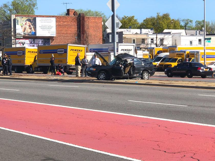 Woodhaven Boulevard crash - Queens Chronicle: Queenswide