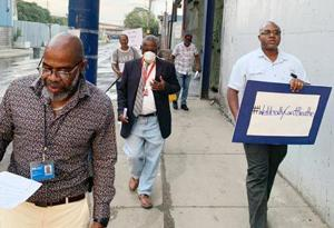 Jamaica march backs trash zone legislation 1