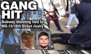 Gang rivalry led to subway shooting 1