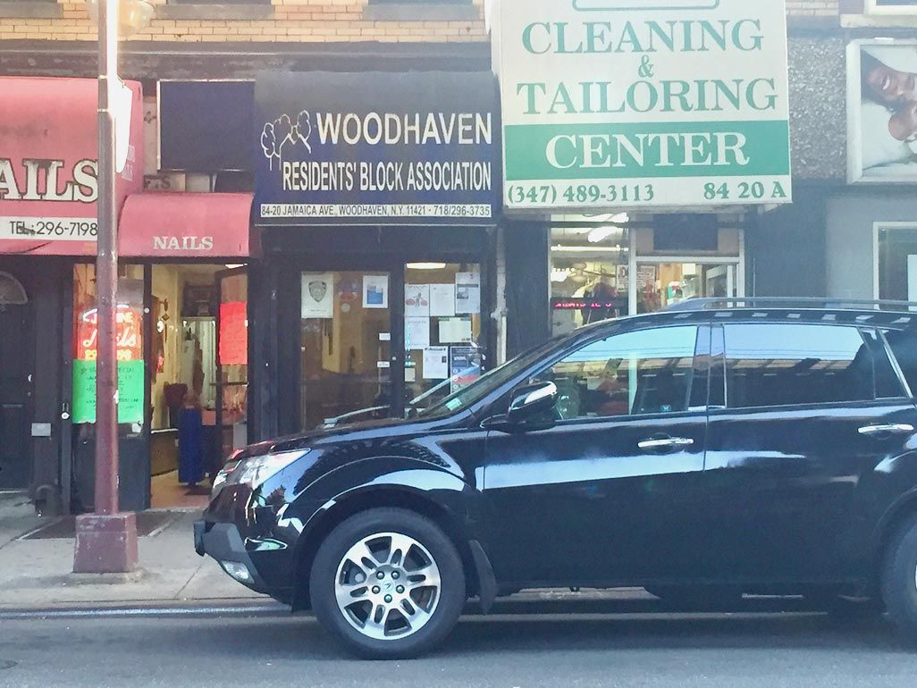 Woodhaven civic: End storefront trash fines 2