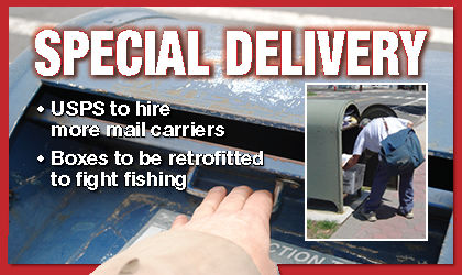 Postal service will hire more mail carriers 1