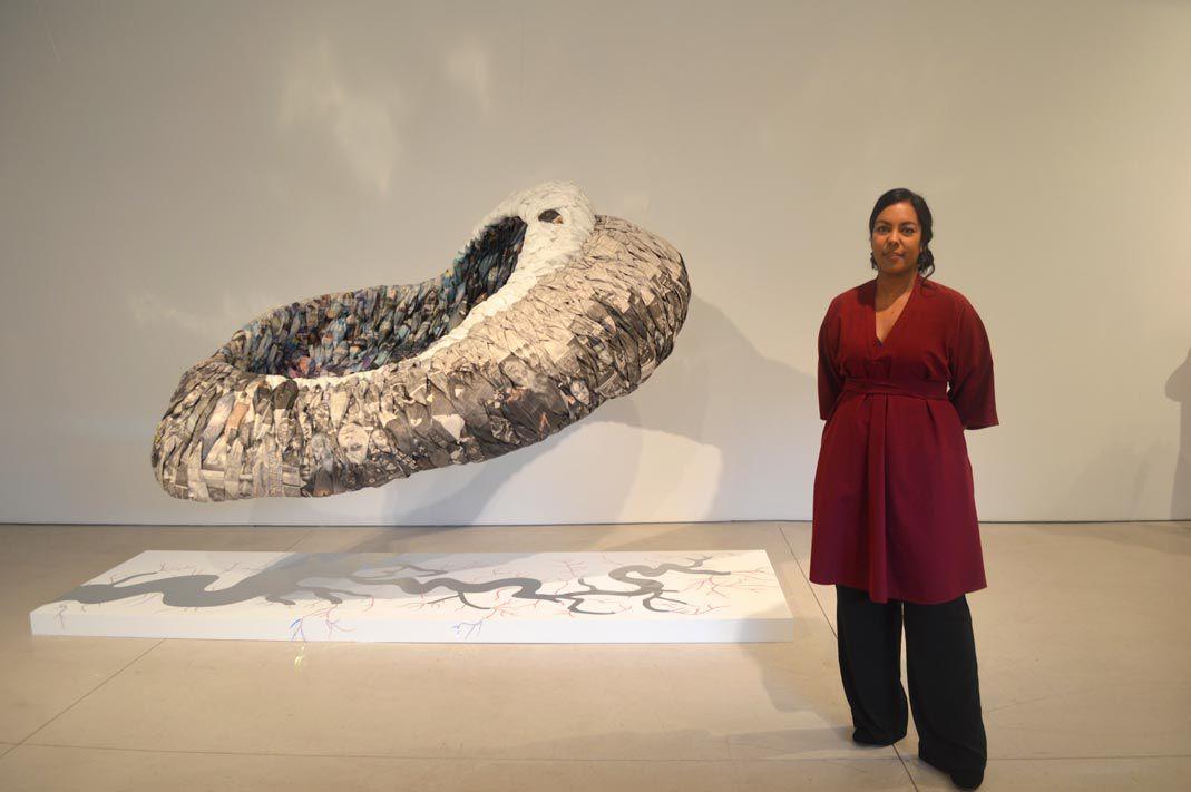 Environmentally conscious art at the Dorsky 1