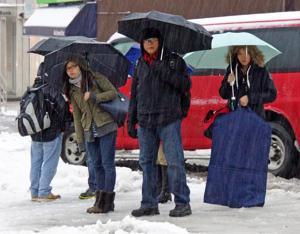 Winter tightens its grip on Queens 1