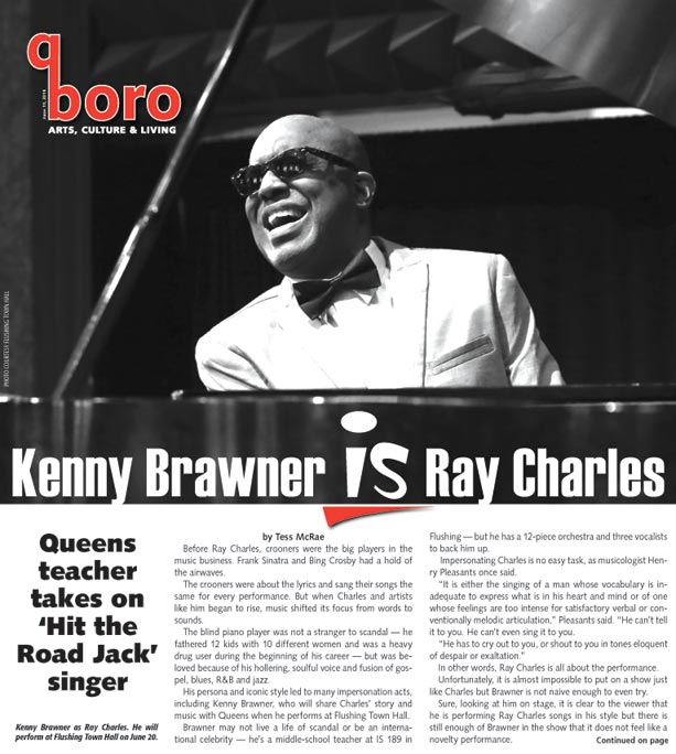Kenny Brawner and band 'Mess Around' with Ray 1