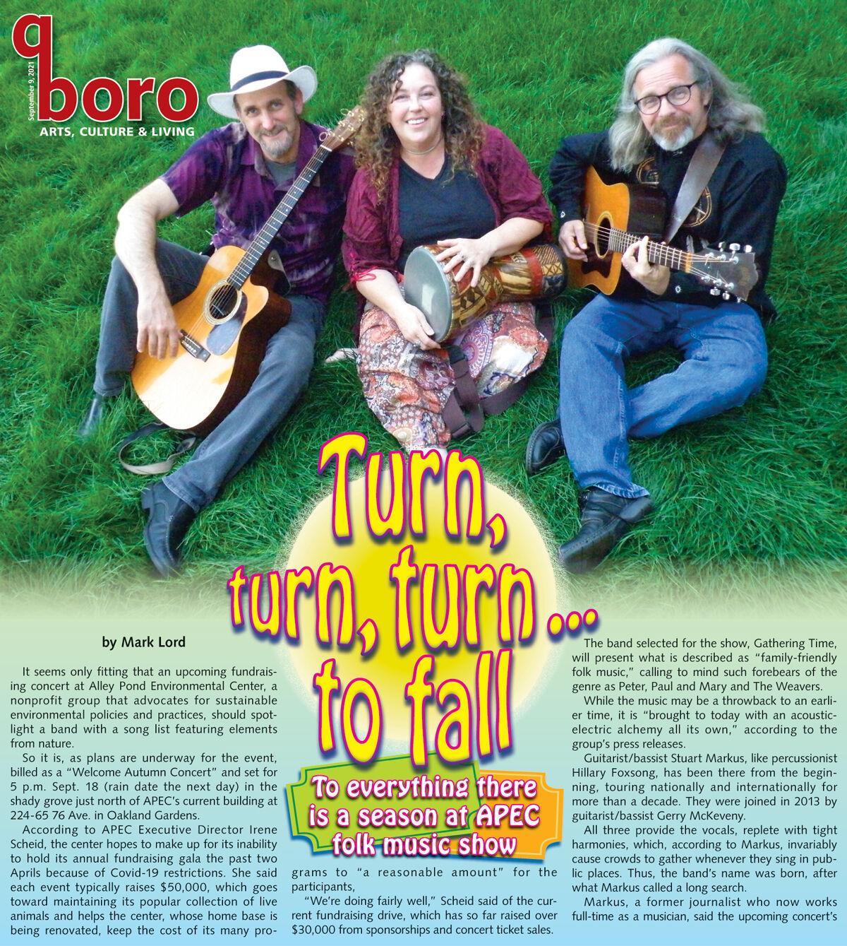 Classic folk tunes help keep fall 'green' at APEC 1