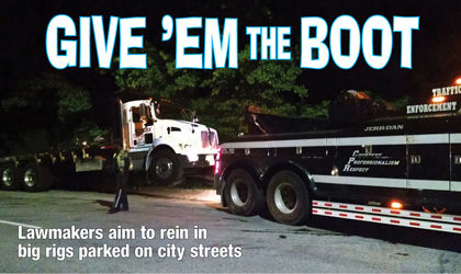 Big rigs, dumping in  City Council's sights 2