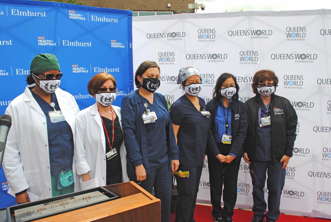Queens film festival lauds hospital heroes 2