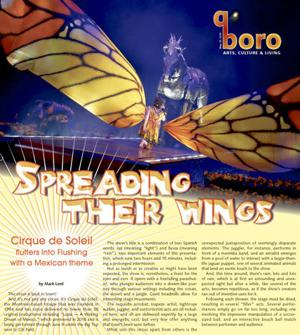 Cirque du Soleil is flying high again in Flushing 1