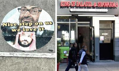 Astoria falafel shop besieged by trolls 1