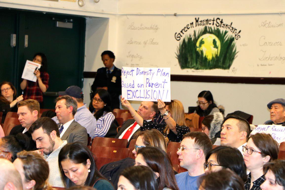 Outraged parents at diversity forum 2