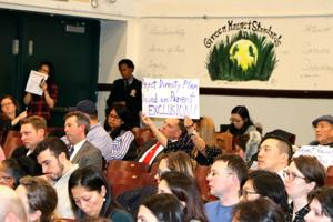 Outraged parents at diversity forum 2