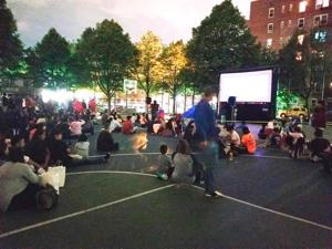 Catch a free movie at night in your neighborhood park 1