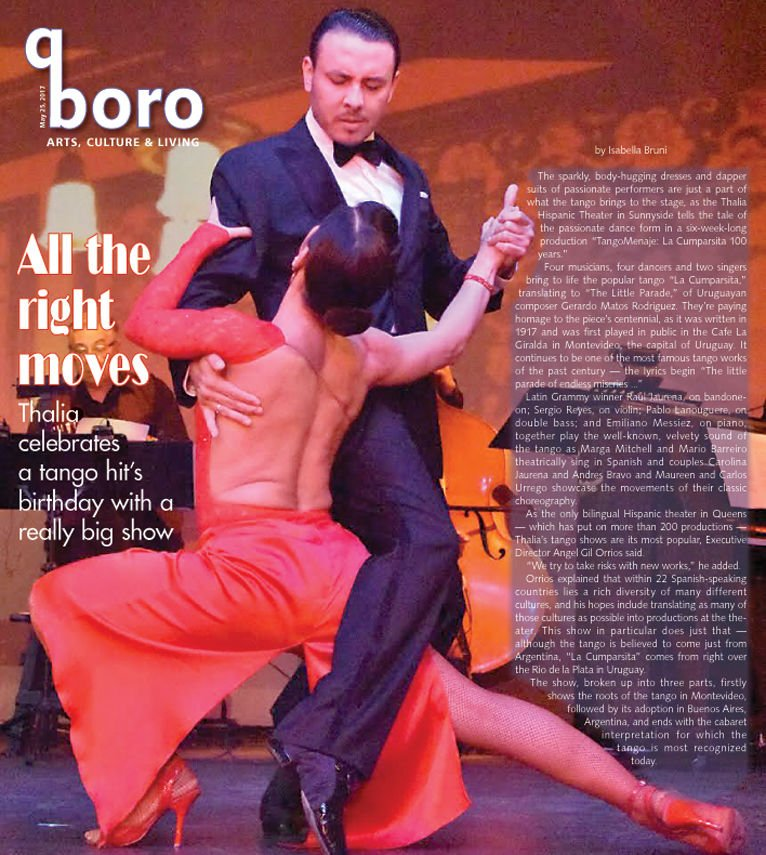 More than two can tango in homage to a classic 1