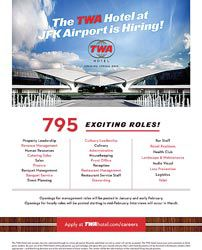 TWA Hotel starts heavy hiring push 2