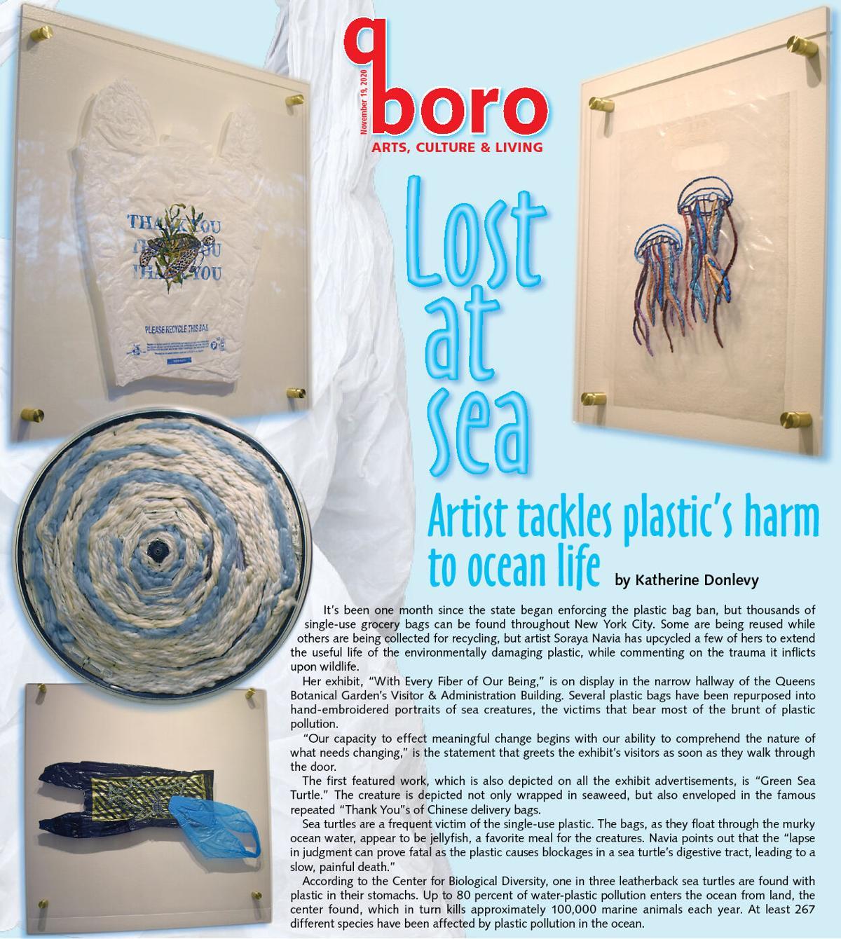 Reclaiming plastic on behalf of sea creatures 1
