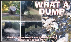 Filthy sludge dump caught on video  1