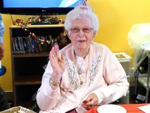 Happy birthday, Mary! 1