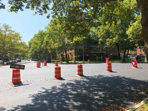 Work on roundabout in Lindenwood starts 1